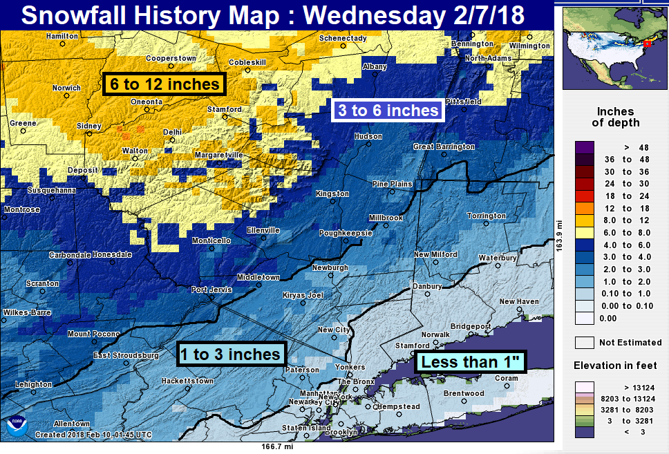 Snowstorm recap wednesday 2718 hudson valley weather as we like to do with our recaps we post our final snowfall forecast map followed by the national weather services snow history map and snow totals publicscrutiny Gallery