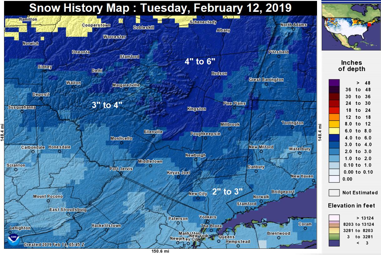 Storm Recap – Hudson Valley Weather