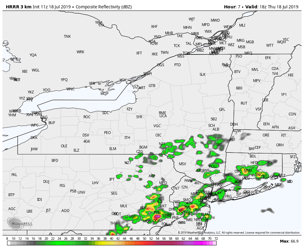 Detailed Forecast – Hudson Valley Weather